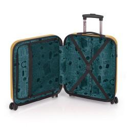 ABS куфар 55 см. жълт – Paradise