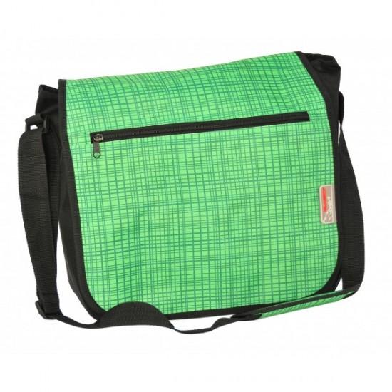 Paso Ученическа чанта за рамо Green - Shoulder 12-5183