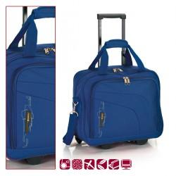 Пътна чанта на колела 40 см. синя – Week
