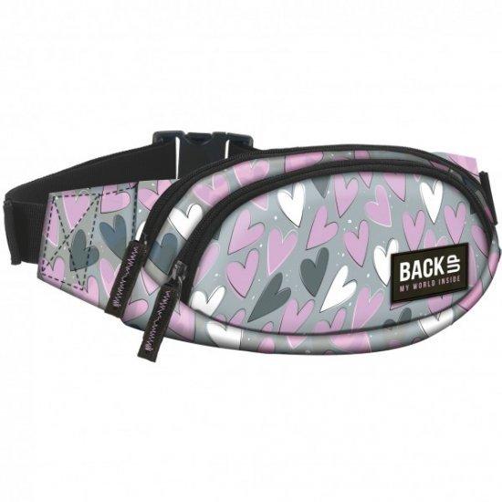 Чанта за кръста A04 Hearts BackUp