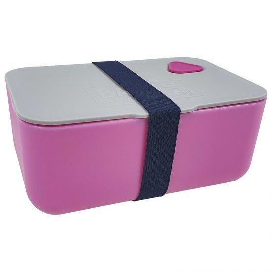 Кутия за храна розова BackUp 73450