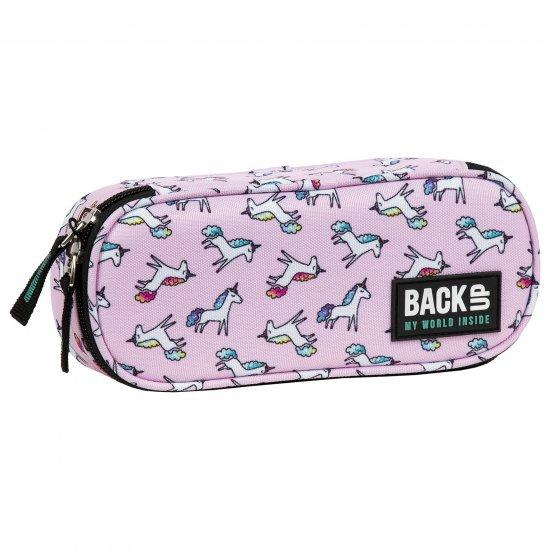 Ученически несесер А70 Pink Unicorn BackUp