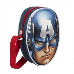 CAPTAIN AMERICA 3D малка чанта