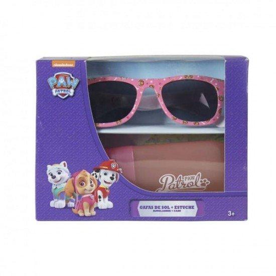 PAW PATROL слънчеви очила с калъф (розови)
