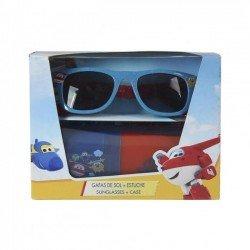 SUPER WINGS слънчеви очила с калъф (сини)
