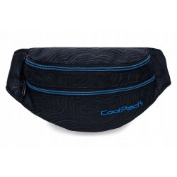 Чанта за кръста COOLPACK - MADISON - TOPOGRAPHY BLUE