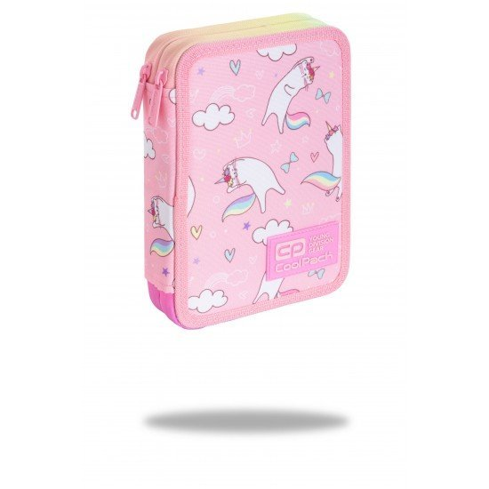 Несесер пълен COOLPACK - JUMPER XL - Pink Dream