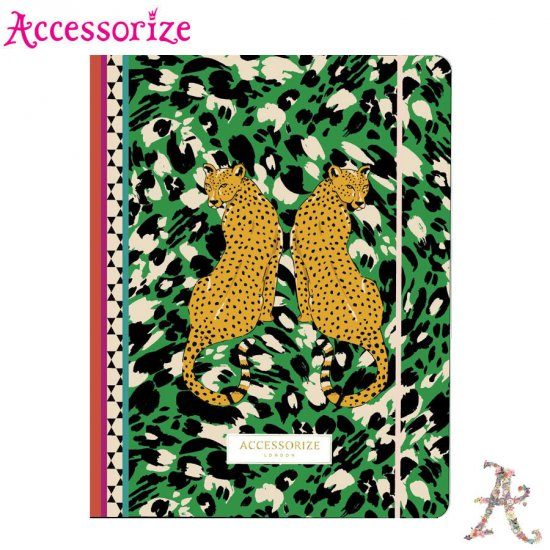 Папка с ластик Accessorize Leopard