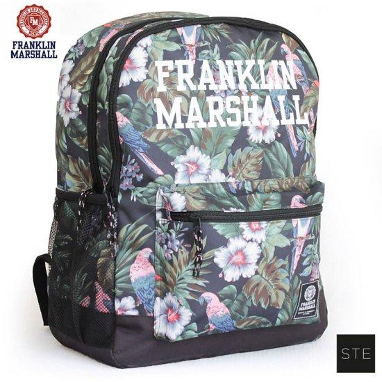 Ученическа раница с две отделения Franklin Marshall Tropical