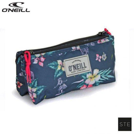Ученически несесер с две отделения O'Neill Girls Flowers