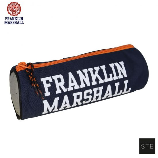 Ученически несесер с едно отделение Franklin Marshall Blue