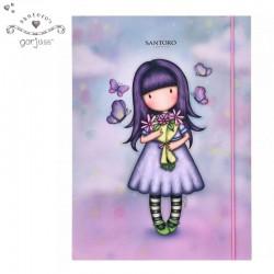 Gorjuss Папка с ластик - Send Me Flowers 830863