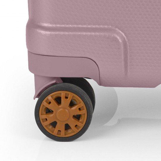 ABS куфар 55 см. розов - Mosaic