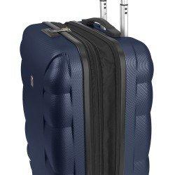 ABS куфар 55 см. син - London