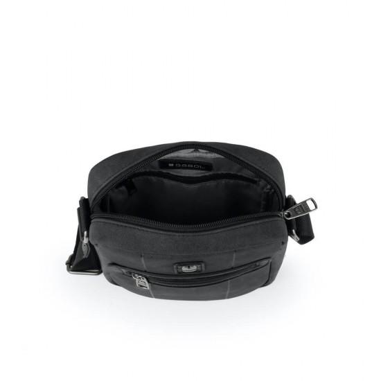 Мъжка чанта Clock черна