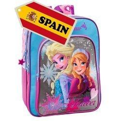 Ученическа раница Disney Anna & Elsa с подарък ученически пособия