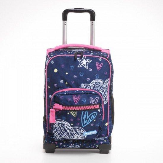 Куфар-раница MITAMA Dr.Trolley - ROMANTIC BLUE