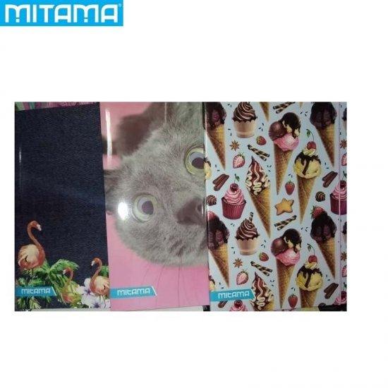 Папка с ластик Girl асорти Mitama