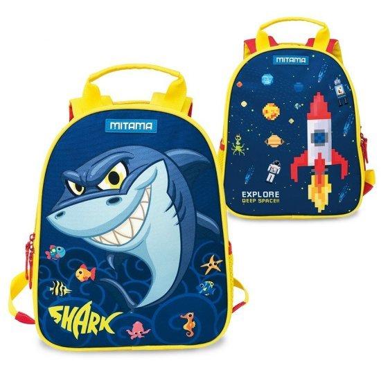 Раница за детска градина Mitama Spinny Shark