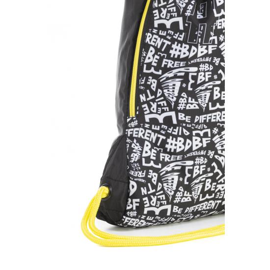 Спортна торба Lettering Mitama, подарък ключодържател