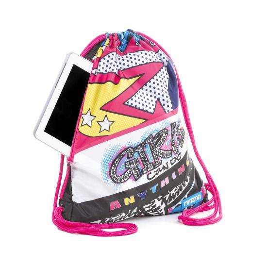 Спортна торба Roller Girl Mitama, подарък ключодържател