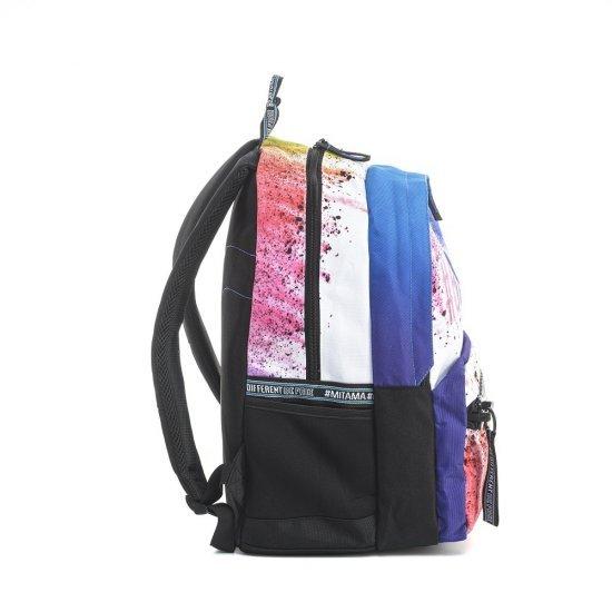 Ученическа раница Mitama Unlimited Color Splash, подарък Шапка