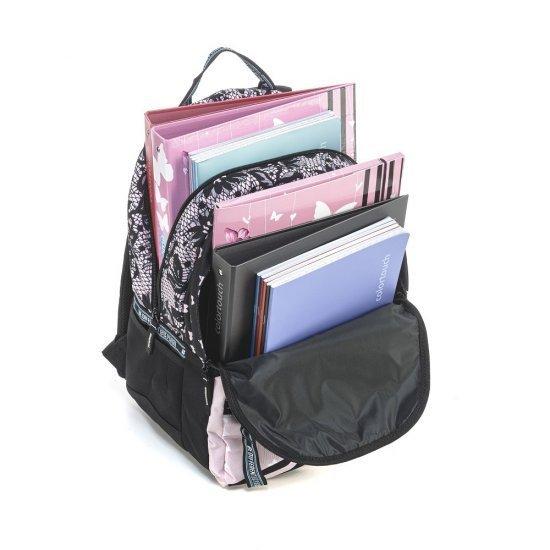 Ученическа раница Mitama Unlimited Pink Lace, подарък Шапка