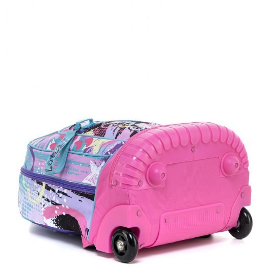 Ученическа раница на колела Mitama Trolley Run Lovers, подарък Шапка