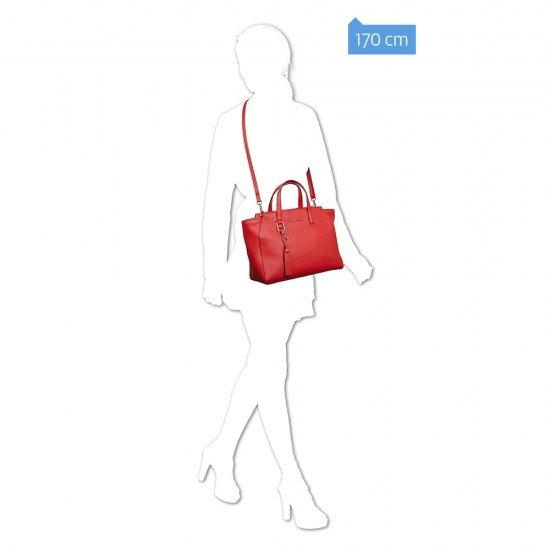 Дамска чанта Muse - червена