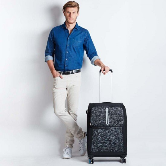 Куфар Coleos 66,50 см. - черен