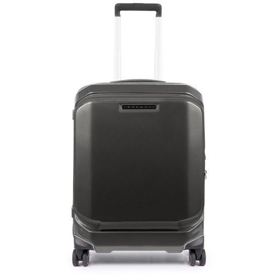 Куфар PiQ3 55см. - черен