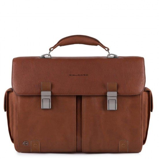 "Бизнес чанта за лаптоп 15.6"" Black Square - кафява"