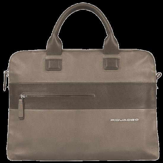 """Бизнес чанта за лаптоп 13"""" Laszlo - сива"""