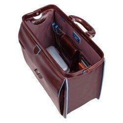 Бизнес чанта Blue Square - махагон