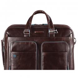 """Бизнес чанта за лаптоп 15"""" Blue Square - махагон"""