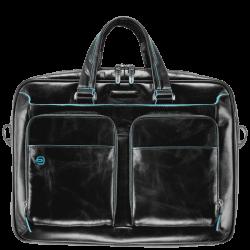 """Бизнес чанта за лаптоп 15"""" Blue Square - черна"""