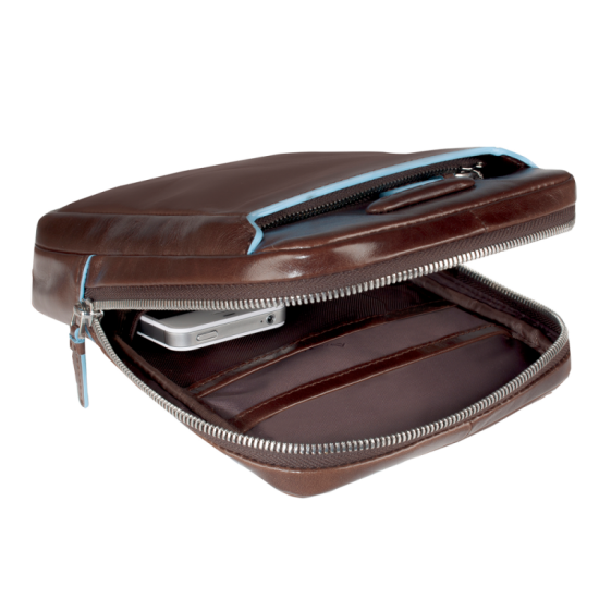 Чанта за рамо Blue Square - махагон