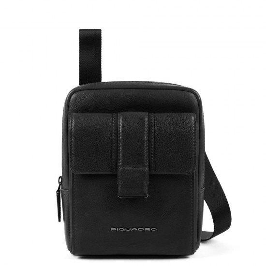 Чанта за рамо Kobe - черна