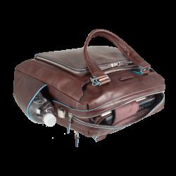 """Чанта с отделение за лаптоп 15.6"""" Blue Square - махагон"""