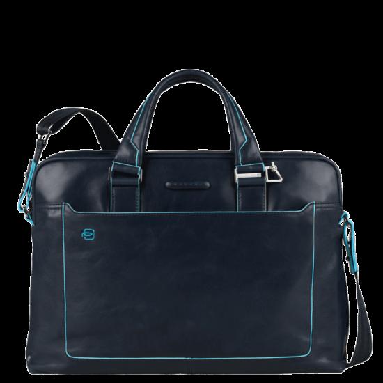 Дамска бизнес чанта Blue Square - тъмно синя