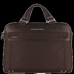 Дамска чанта за лаптоп Link - кафява