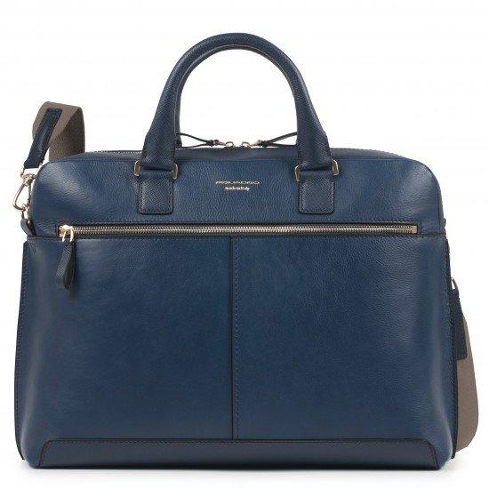 """Дамска чанта за лаптоп 15.6"""" Archimede - синя"""