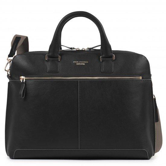"""Дамска чанта за лаптоп 15.6"""" Archimede - черна"""