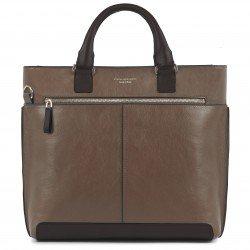 """Дамска чанта за лаптоп 13"""" Archimede - кафява"""