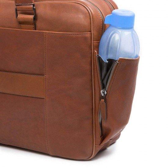 "Бизнес чанта за лаптоп 15"" Black Square - кафява"
