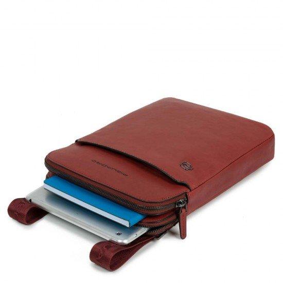 Чанта за рамо Black Square - махагон