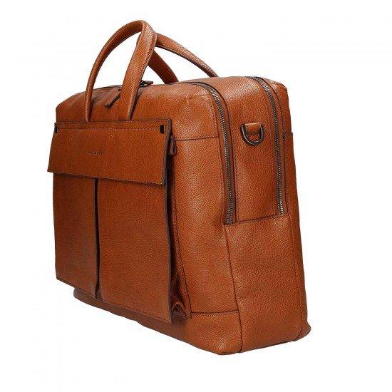 Бизнес чанта за документи Kolyma - кафява