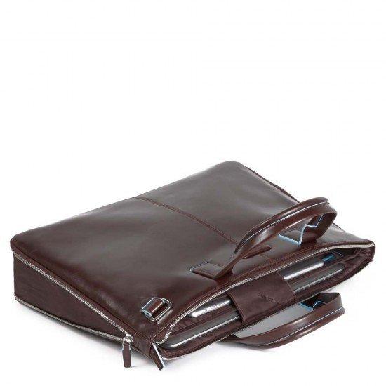 """Бизнес чанта за лаптоп 15.6"""" Blue Square - махагон"""
