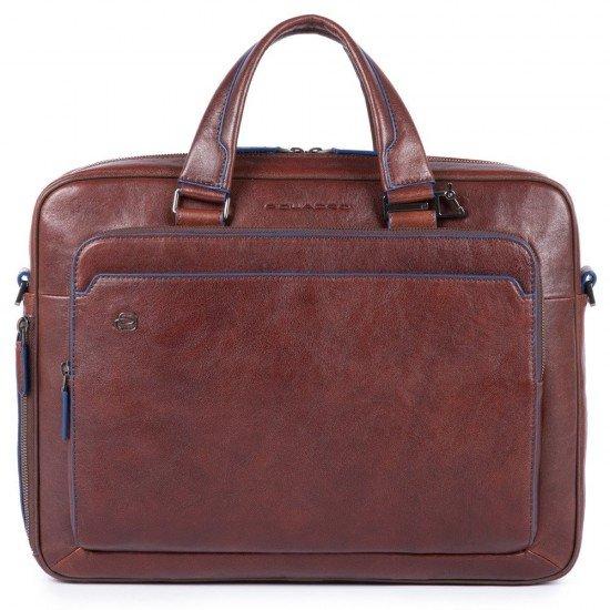 "Бизнес чанта за лаптоп 15.6"" - Blue Square - кафява"