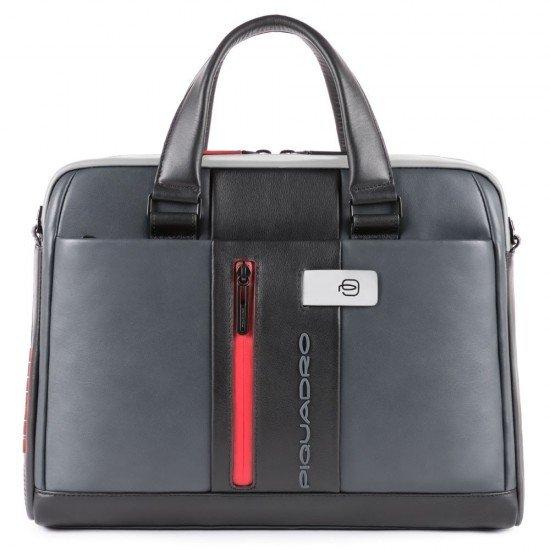 Бизнес чанта Urban - сиво-черна